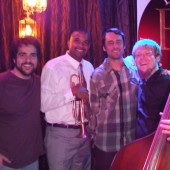 Pete Rodriguez Jazz quartet host Jazz Jam at The Brass House in Austin Texas